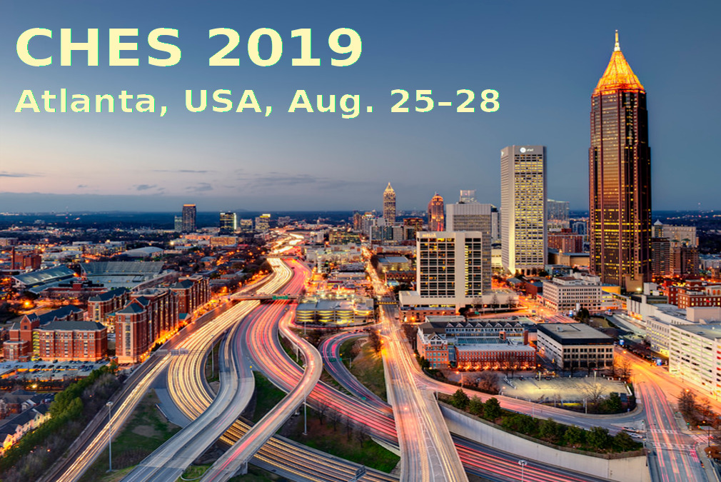 CHES 2019, Atlanta, USA